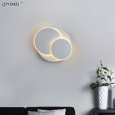 18W LED Wall Lamps 350 degree rotation Bedroom Beside Reading Wall Lights Indoor Living Room Corridor Hotel Lighting Decoration