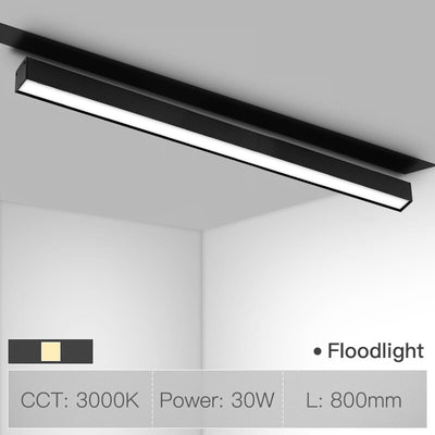 90 Degree Movable Floodlight linear lighting fixture for Magnetic Channel