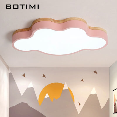 Cloud Shaped LED Ceiling Lights With Remote Control