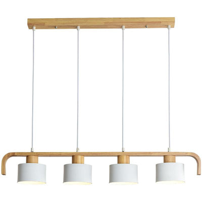 Modern LED Wooden Hanging Lamp