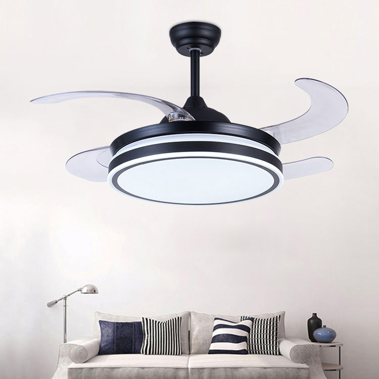 Air purification fan with lamp