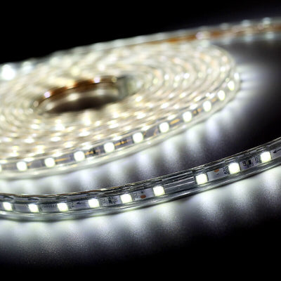 Waterproof 60 LED Strip Flexible Light With Power Plug