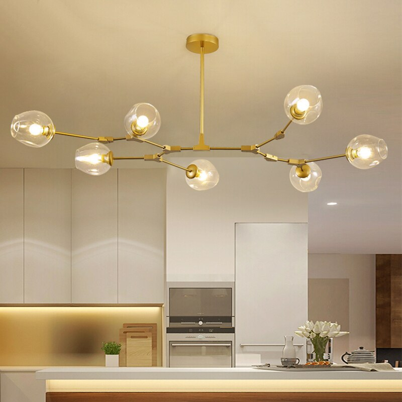 Nordic Retro Loft vintage Hanging lamp Ceiling Lights
