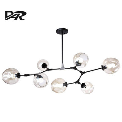 Nordic Modern Chandelier Glass Ball  Pendent Lamp