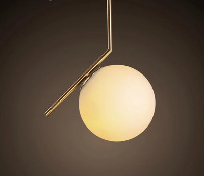 Nordic Garner - glass ball pendant lamp