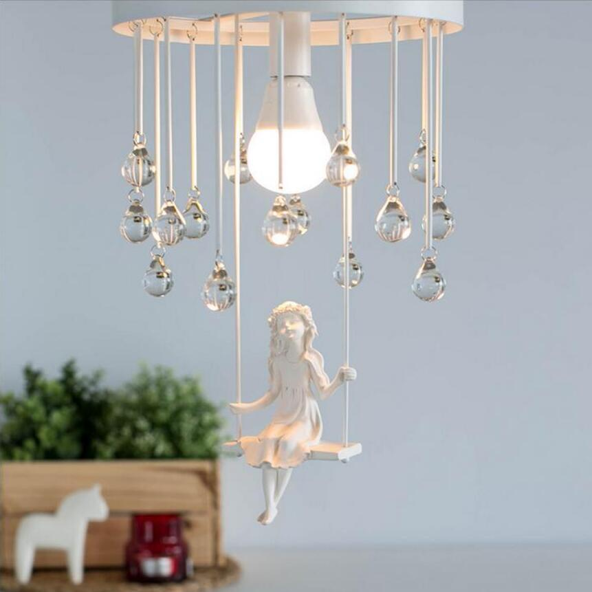 Modern art angel chandelier