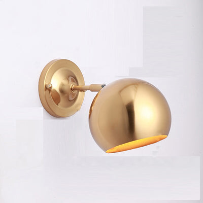 Nordic Simple Modern Aisle Corridor Golden Background Creative LED Wall Lamp