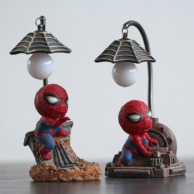 Resin Craft Kid's Home Desktop Table Lamp Figurines