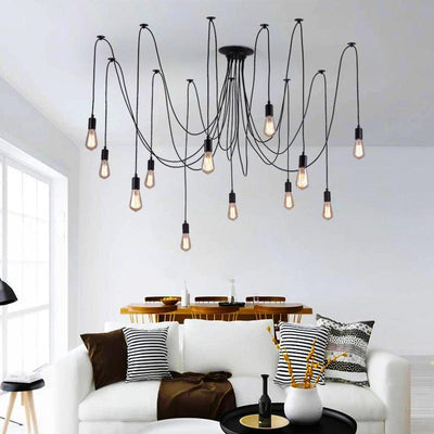 Loft Hanging  Industrial Edison lamps