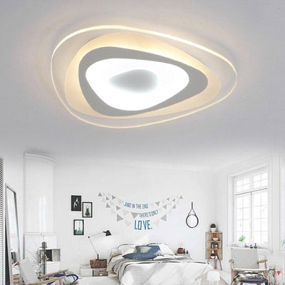 Ultrathin Surface Mounted Triangle Modern led ceiling lights