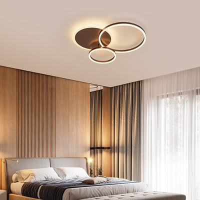 Circular Ceiling Lamp With Remote Control