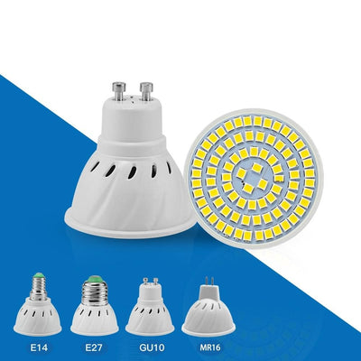 Spotlight Bulb Lamp E27 E14 MR16 GU10 Led AC 220V/110V