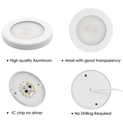Mini LED Downlight Ultra-thin Surface Mounted Indoor Panel Lighting