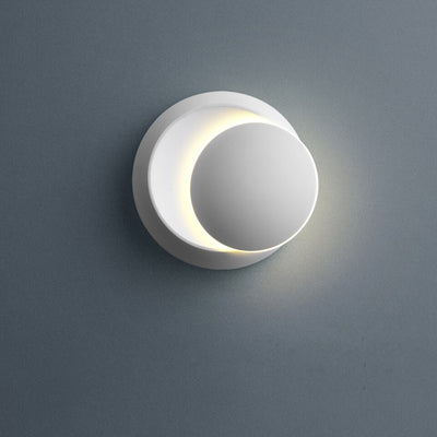 Deco Design Moon white black wall Lamp