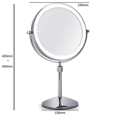 Lifting Makeup Rotate 360 degrees Mirror LED Light