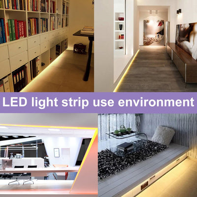 1 - 5M Dimmable Touch Sensor Cool white/ warm white DC USB Strip Flexible light