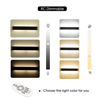 Minimalist Sconce 6W 20W 24W Bedroom Bedside Led Wall Lamp
