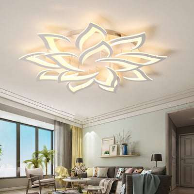 Lotus Ceiling Light | with remote control