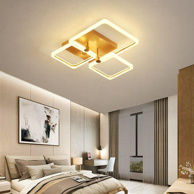 Lighting Garner - Rectangle Modern LED  Ceiling Lamp  Fixtures