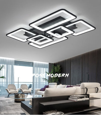 Modern DIY APP intelligent control LED chandelier