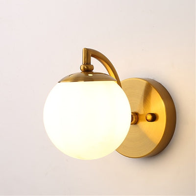 (Free G9 Light Source)Nordic wall lamp 4 Color Globe led wall light for home living room/bedroom/stair light Acrylic wall sconce