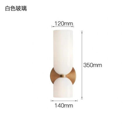 Wall Lamp Light Luxury Bedroom Bedside Lamp Living Room Background Wall Lam Nordic Simple Corridor Sconce Light Fixture Foyer