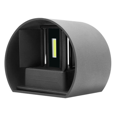 12W LED Wall Lamp IP65 Waterproof Indoor & Outdoor Aluminum Wall Light Surface Mounted Cube LED Garden Porch Light