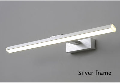 Wall Lamps Home Lighting Fixtures Modern Led Wall Light Barthroom Lamp 40 50 60 80 100cm Barthroom Mirror Front Lights 110v 220v