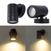5W wall mounted LED light black led wall lamp outdoor porch wall washer lights home sconces wall light