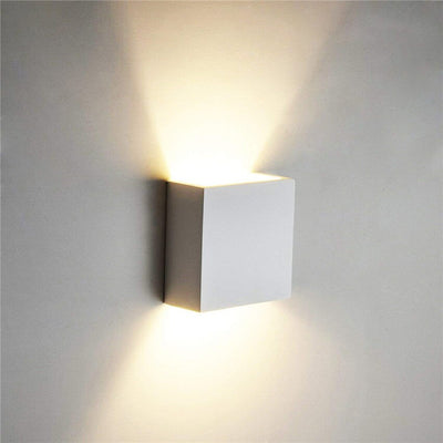 COB LED Indoor Lighting Wall Lamp Modern Home Lighting Decoration Sconce Aluminum Lamp 6W 85-265V For Bath Corridor