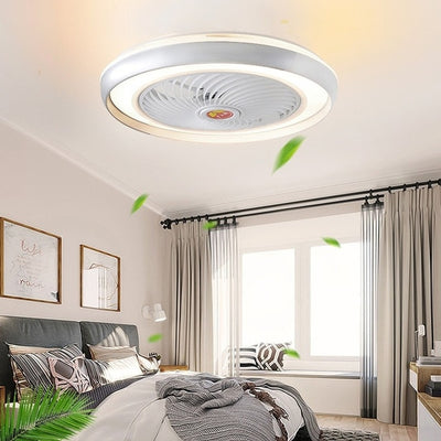 50 cm APP smart ceiling fan with light remote control