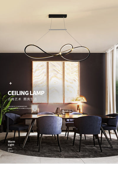 Modern LED Pendant Light for Kitchen/Office