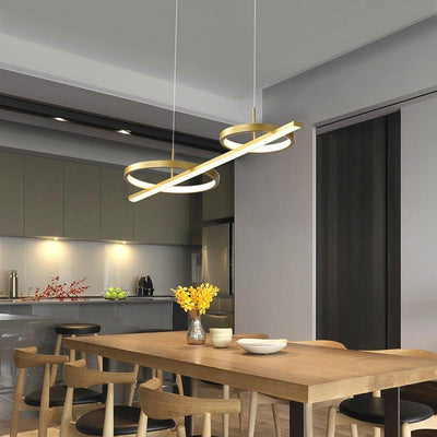 Gold LED Pendant Lamp for home