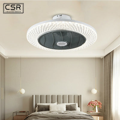 Bluetooth APP Control LED Fan Lamp