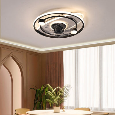 Smart Ceiling Fans With Lights Remote Control