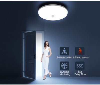 Motion Sensor 220V 110V Panel Lights