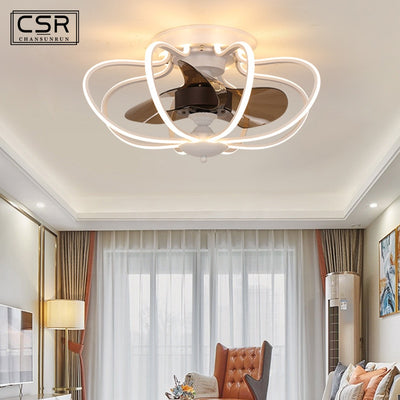 Nordic Invisible Fan lights with Remote Control