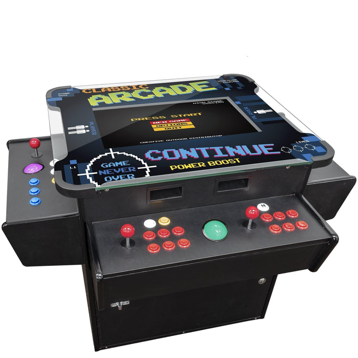 cocktail arcade game table