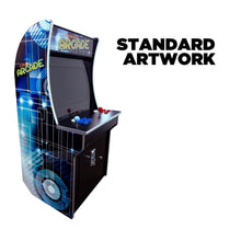 "Load image into Gallery viewer, 2 PLAYER MINI STAND UP ARCADE | 2323 GAMES | 21"" LCD MONITOR 
