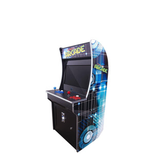 "2 PLAYER MINI STAND UP ARCADE | 2323 GAMES | 21"" LCD MONITOR 