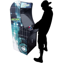 "Load image into Gallery viewer, 2 Player Stand-Up Arcade Cabinet | 22"" LCD Monitor 