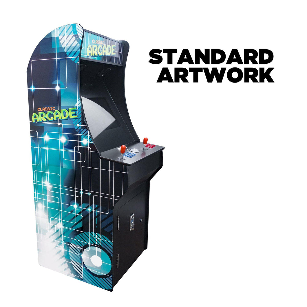 2 Player Stand-Up Arcade Cabinet | 22