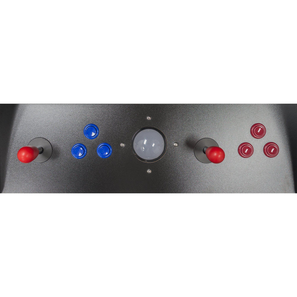 2 Player Stand-Up Classic Arcade Cabinet control panel, joysticks