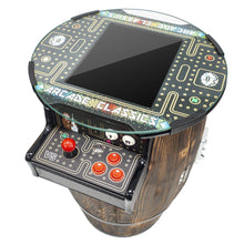 "Load image into Gallery viewer, 2 Player Short Wine Barrel Arcade | 15"" LCD Screen 