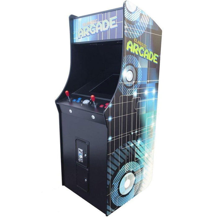 "2 Player Stand-Up Classic Arcade Cabinet | 22"" LCD Monitor 