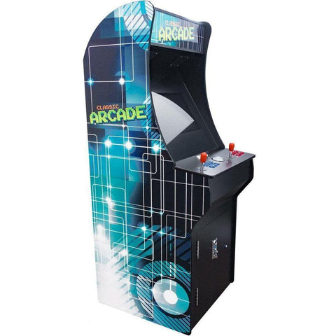 2 Player full size arcade cabinet