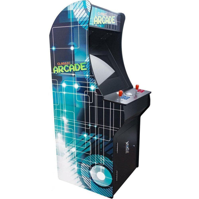 2 Player Classic Stand-Up Arcade Cabinet