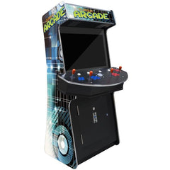 """4 PLAYER ARCADE CABINET SLIM 