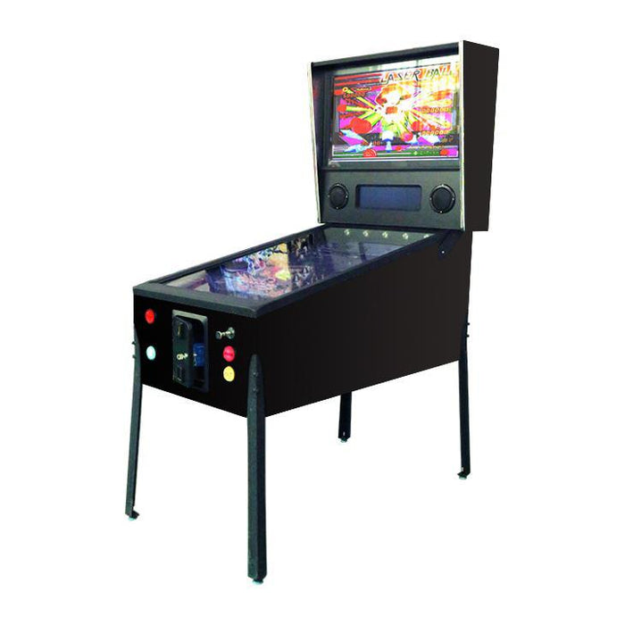 "Virtual Pinball Machine | 300 Famous Pinball Games | 49"" 4K-LCD Screen 