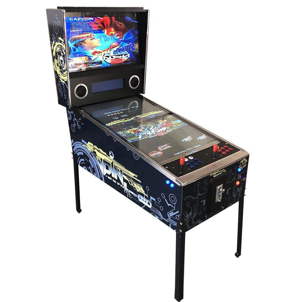 "2 Player Virtual Pinball Machine | 42"" LCD Monitor 